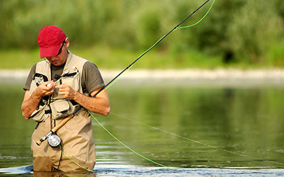 Fly fishing in Caldwell County NC