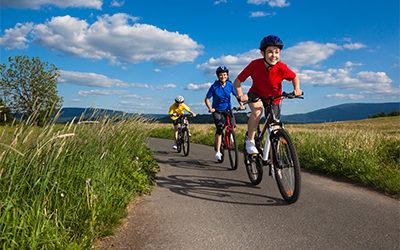 Biking in Caldwell County